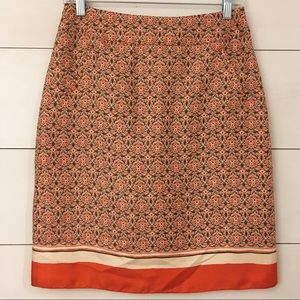 Banana Republic Rayon/Silk Blend Lined Skirt!